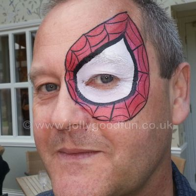 Spiderman Eye Design